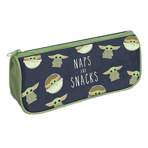 Star Wars The Mandalorian Naps And Snacks Pencil Case